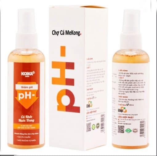 dung dịch giảm pH